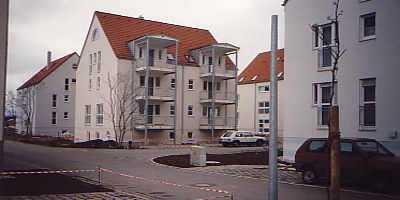 Wohnhäuser der Gemeinde
