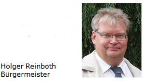 Holger Reinboth Bürgermeister